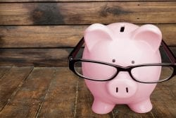 Piggy Bank Home Finances Intelligence Savings Education Investment Professor